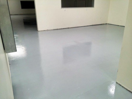 Epoxy Coating industrial warehouse