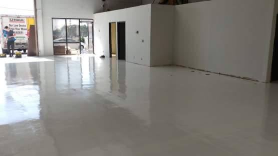 Epoxy Coating - Industrial Warehouse