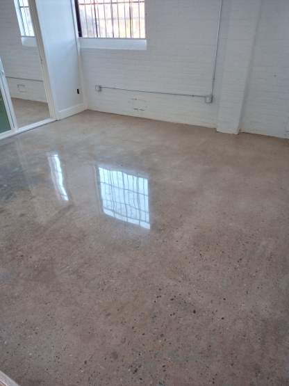 Polished Concrete Floor Commercial Office