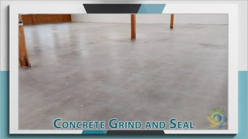 Concrete Floor Grind and Seal