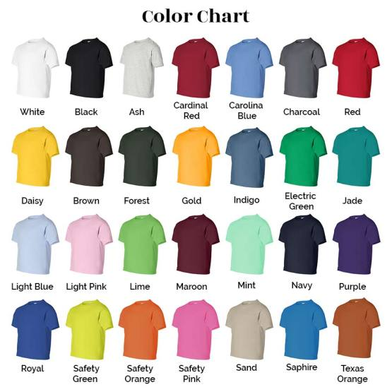 color shirts for 100% cotton shirts