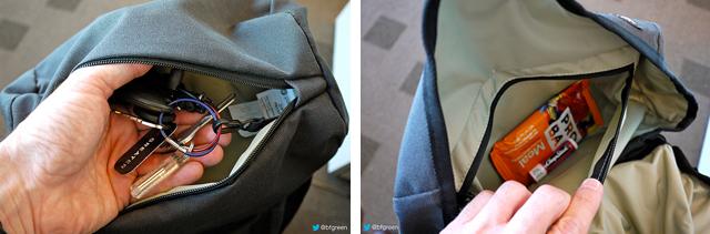 PacSafe Z28 Zippered Pocket