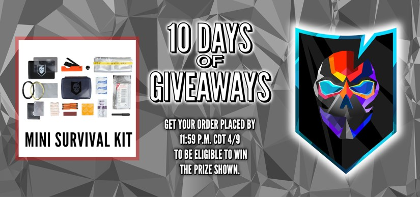 10 Days of Giveaways Day 7