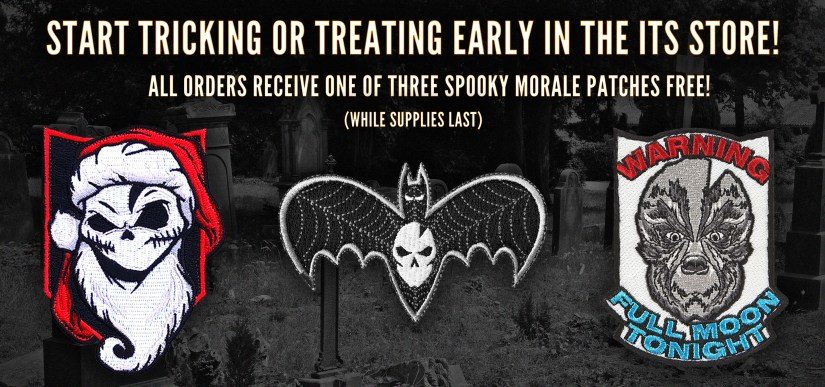 Spooky Morale Patch Featured