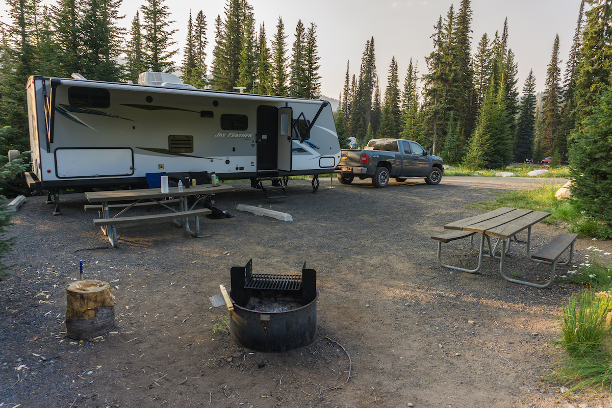 Goose Lake and Grouse Campground Review - It Started Outdoors