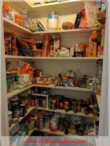 clear out the larder