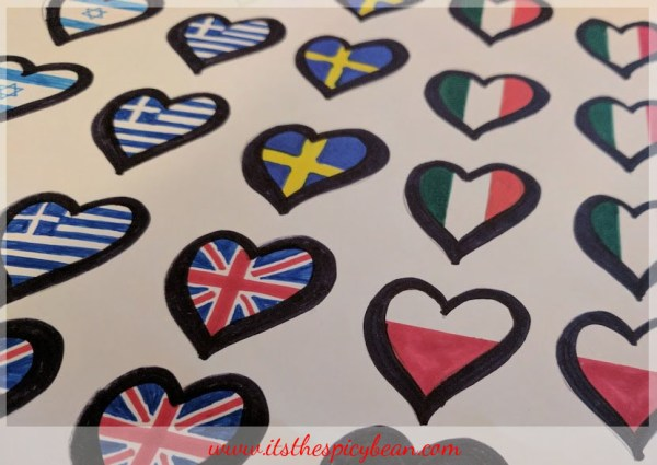 eurovision flags