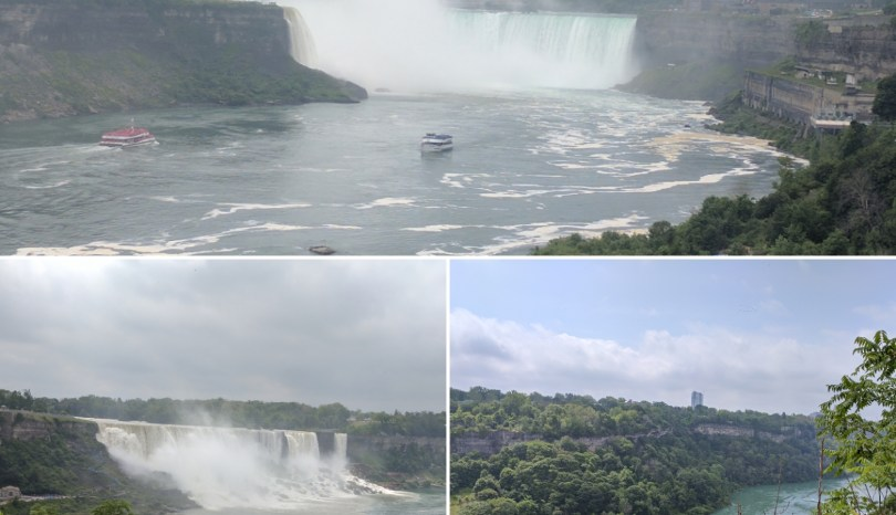 my trip to Niagara Falls: to be reminded of our place in nature
