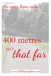 running 400m