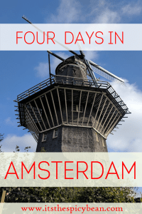the spicy bean - four days in Amsterdam - www.itsthespicybean.com