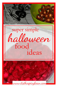 super simple halloween food ideas