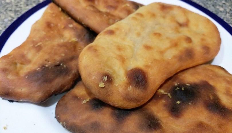 Bake Along With Bake Off Week 3 – Garlic Naan Bread