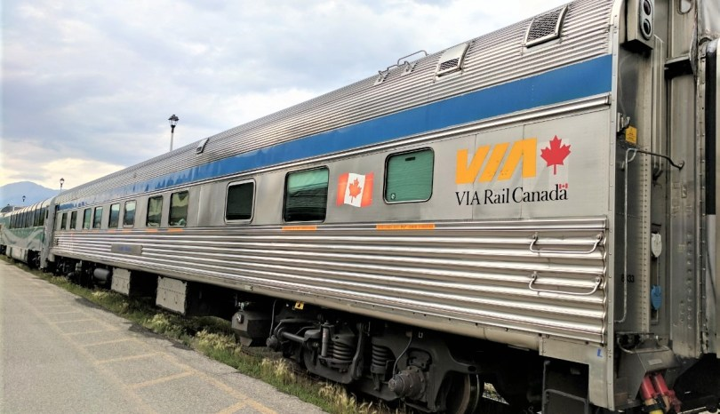 Blogtober day 20: Getting the Train Across Canada