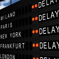 flight delay compensation flight schedule board