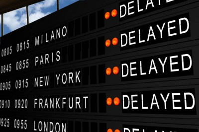 flight delay compensation flight schedule board