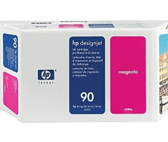 Hp 90 Magenta Value Pack 400ml Ink Printhead Printhead Cleaner For Designjet 4000