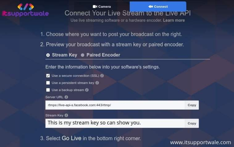 Fixed: OBS Failed to connect to Server While live stream on FB - iswblog