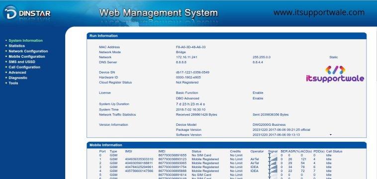 Dinstar-gsm-gateway-dashboard