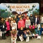 Mos Nicolae le-a adus copiilor orfani din Bucuresti lumea fascianta a filmelor de animatie