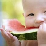 Fructe pentru bebelusi pe timp de vara
