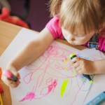 De cand incepe copilul sa deseneze