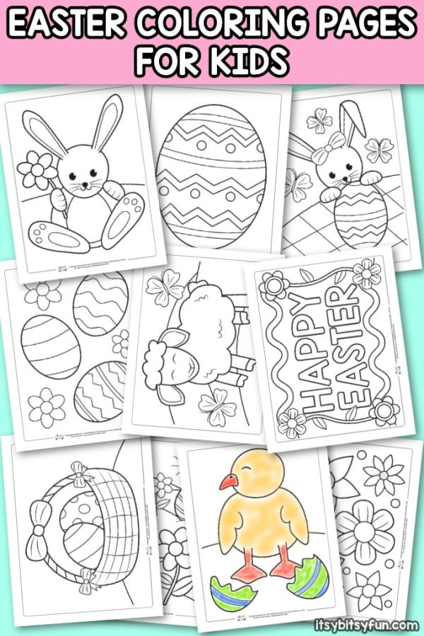 easter coloring pages free # 9