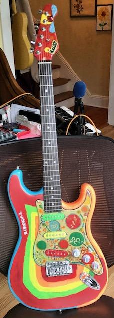 Rocky replica guitar full