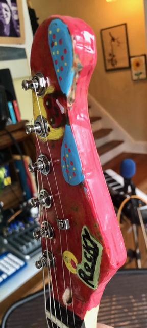 Rocky guitar headstock 3