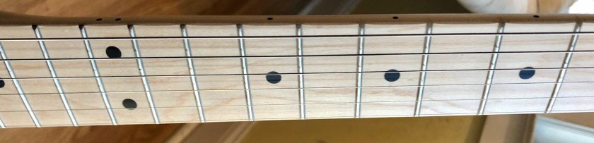 Buddy guitar neck