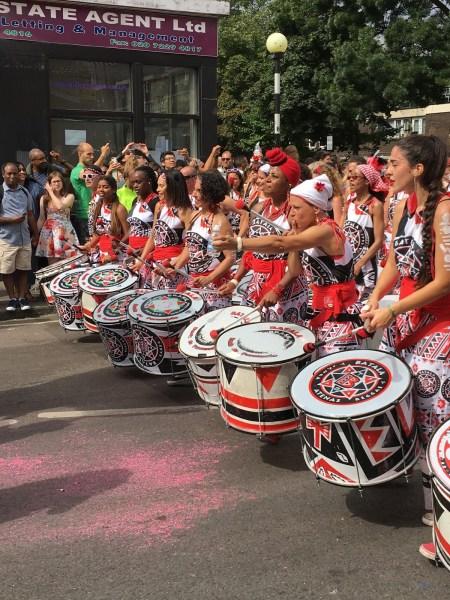 Notting Hill Carnival 2016 - Batala