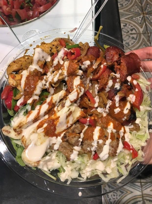 Barraka - My made to order beef salad