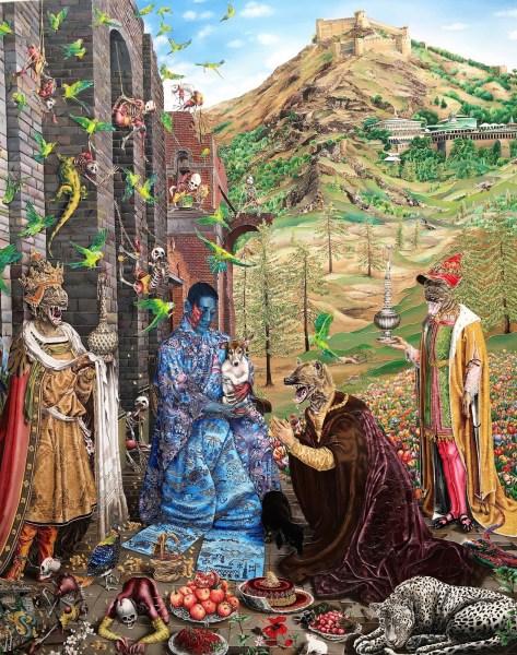 Frieze Art Fair - Raqib Shaw