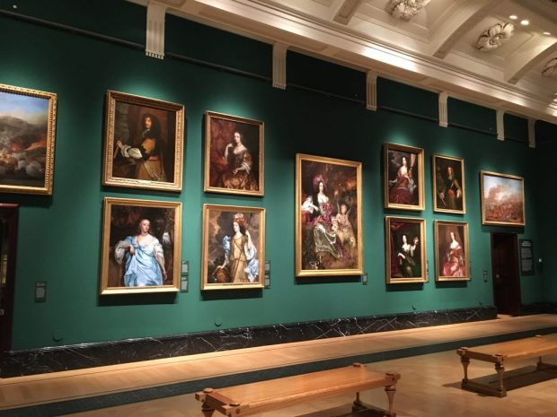 Charles ll at the Queen's Gallery
