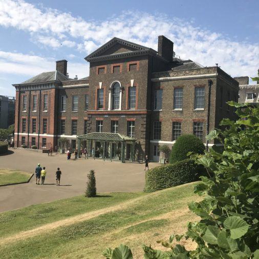 Victoria at Kensington Palace