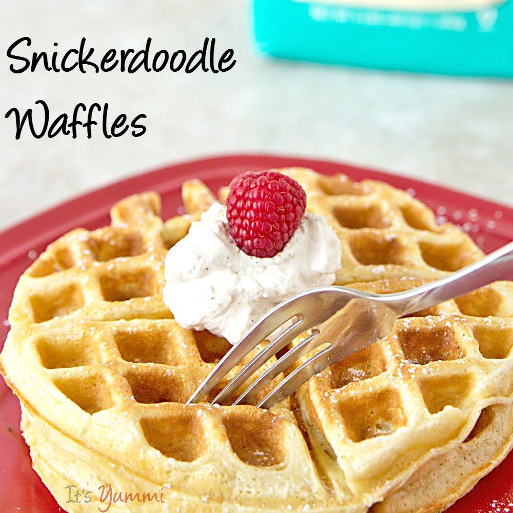 Easy Waffles Recipe Ideas Snickerdoodle Waffles