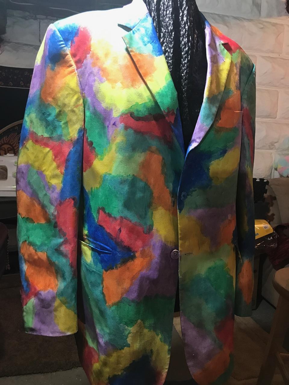 "King's ""transformed"" jacket"