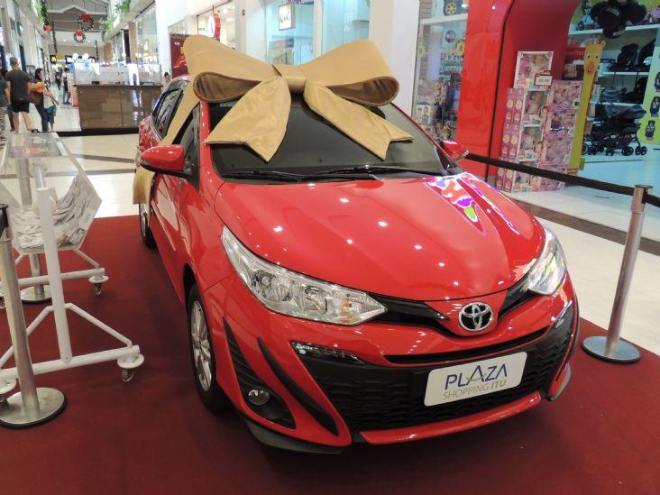 Plaza Shopping Itu tem promoções de Natal com carro 0km e panetones