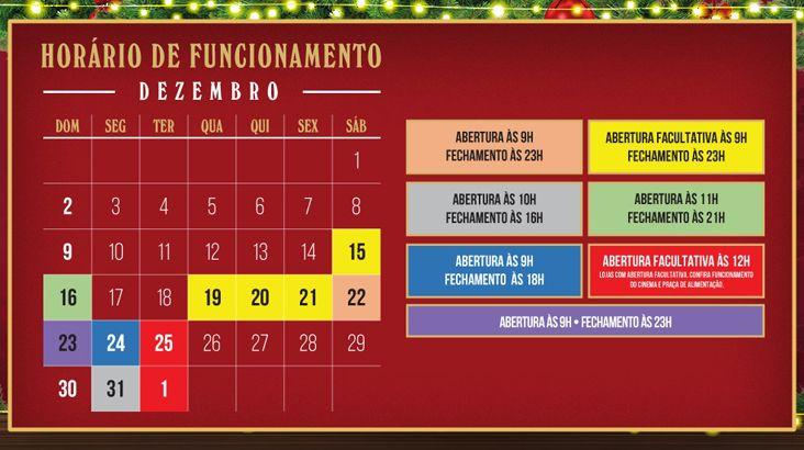 Plaza Shopping Itu tem horários especiais para as compras de Natal