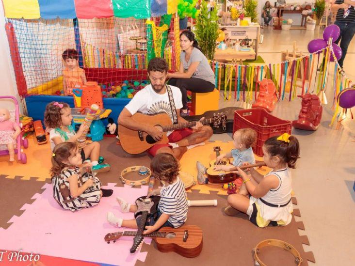 Plaza Shopping Itu apresenta vivência musical para crianças no domingo