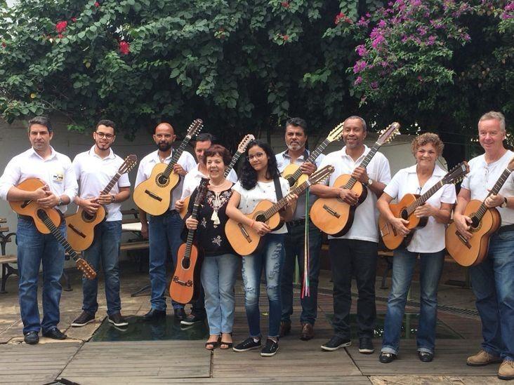Orquestra de Viola Caipira se apresenta no Museu da Energia de Itu