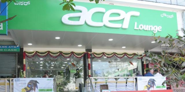 Acer lounge at Bangalore