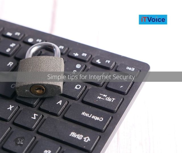 Simple tips for Internet Security