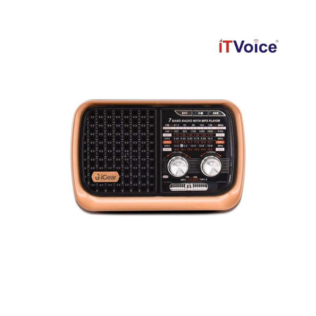 iGear launches 'Vintage Vibes' – Retro-style 7-band Radio