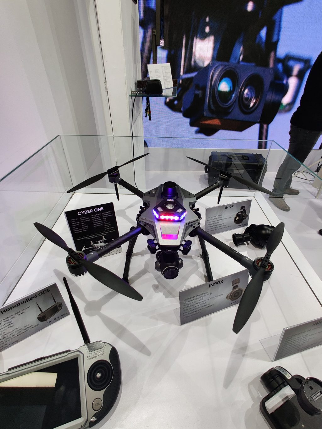 India witnesses the launch of its most advanced drone 'Cyber One'