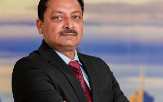 Ajay Sharma, Founder of Sailax Digital Business Cards