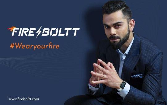Fire-Boltt ropes in Virat Kohli as new brand ambassador ahead of global debut