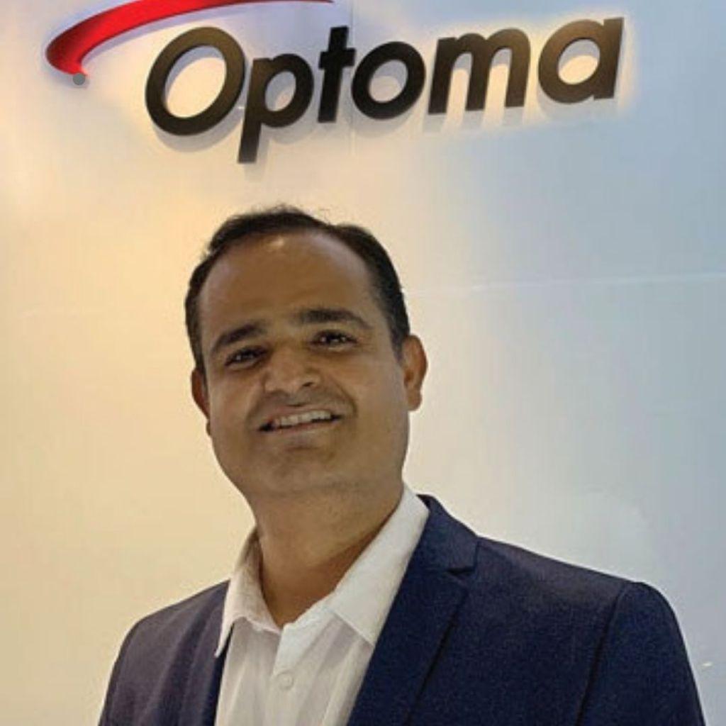 Vijay Sharma, Country Head (India) of Optoma