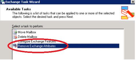 removeexchangeattributes