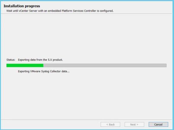 vCenter upgrade11