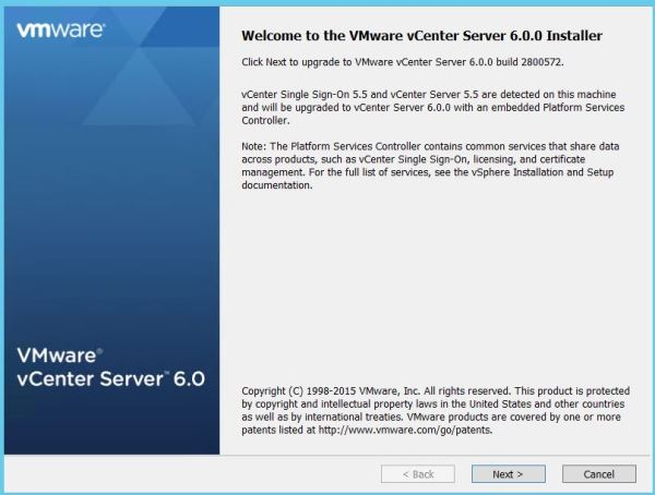 vCenter upgrade3